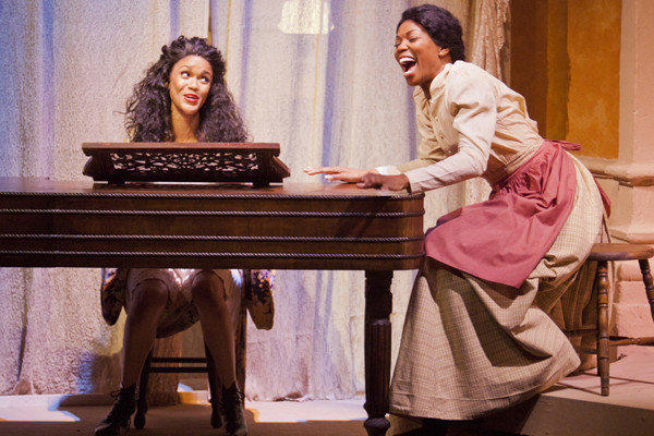 "Kristy Johnson and Vanessa Williams in a scene from ""Intimate Apparel"" at The Pasadena Playhouse."