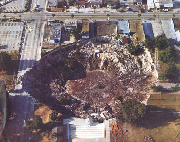 Winter Park sinkhole