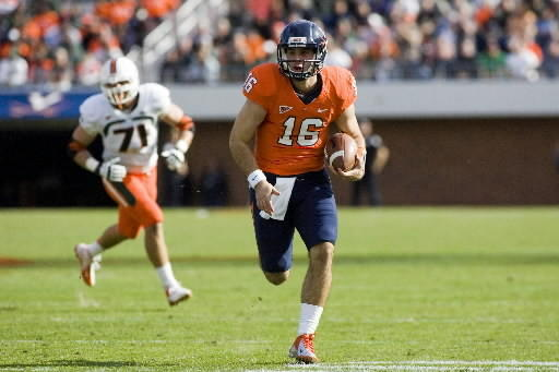 Michael Rocco and Virginia are two wins shy of bowl eligibility