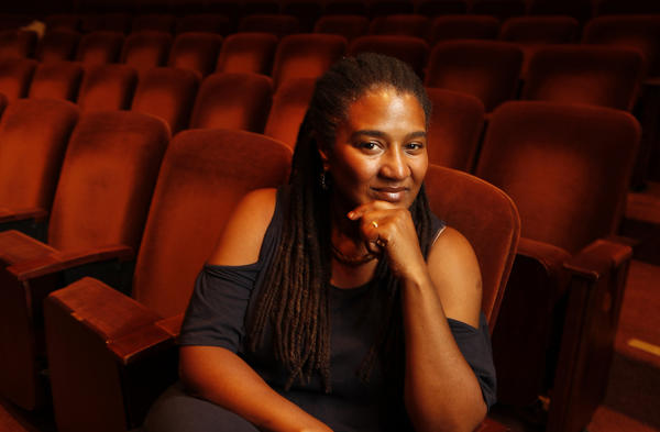 "Pulitzer Prize-winning playwright Lynn Nottage is photographed at the Geffen Playhouse in Westwood as she prepares for her new play ""By The Way, Meet Vera Stark."" <br> <a href=""http://articles.latimes.com/2012/sep/07/entertainment/la-et-cm-fall-preview-lynn-nottage-20120909"" target=""blank""><b>MORE:</b> Lynn Nottage wants ""Vera Stark"" to be a conversation starter</a>"