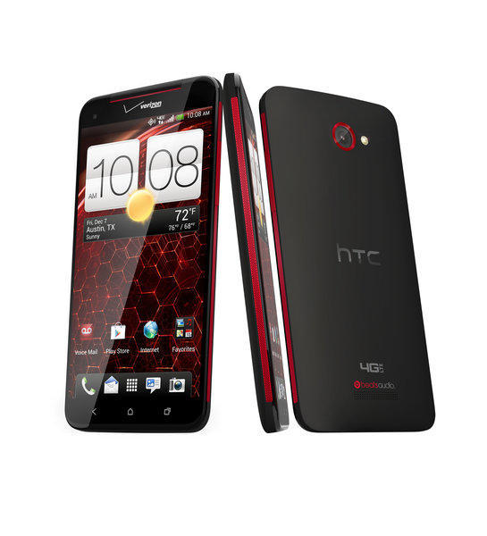 Verizon announced the 5-inch HTC Droid DNA on Tuesday, saying it is the first smartphone to feature a full 1080p HD screen.