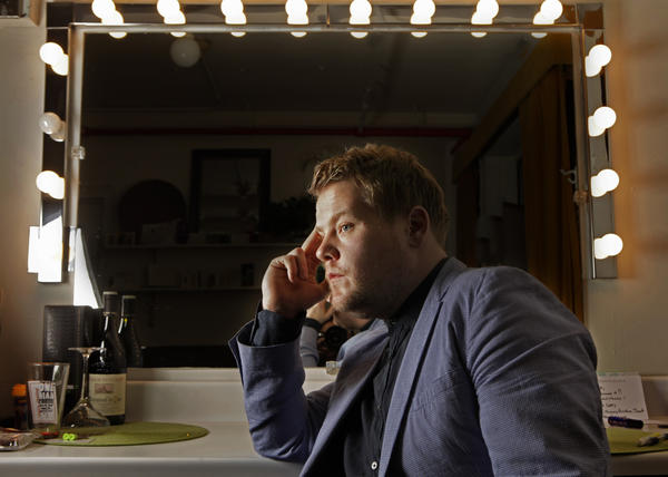 "Actor James Corden, star of the National Theater's ""One Man, Two Guvnors,"" won the lead actor Tony Award for the British comedy import. He beat out Philip Seymour Hoffman in ""Death of a Salesman.""<br> <a href=""http://www.latimes.com/entertainment/arts/culture/la-ca-james-corden-20120520,0,3168828.story"" target=""blank""><b>MORE:</b> James Corden, 'One Man' and a plethora of talent</a>"