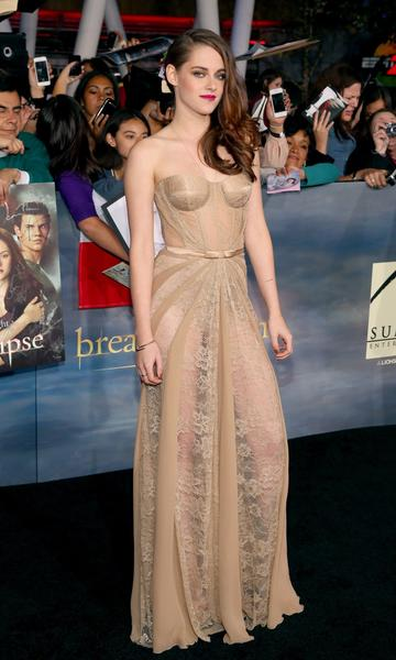 Premiere: 'Twilight Saga: Breaking Dawn -- Part 2': Kristen Stewart