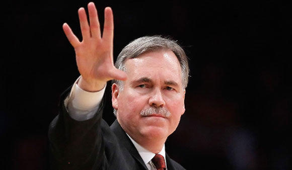 Mike D'Antoni, shown coaching the New York Knicks in 2011, says he became a Lakers fan because of Jerry West.