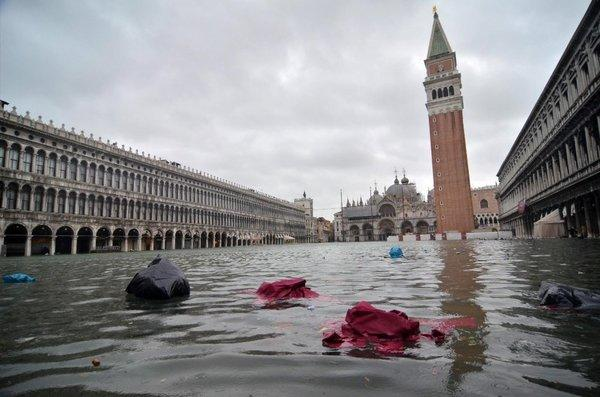 Climate change is being blamed for extreme flooding in Venice, Italy, for the fourth time since 2000.