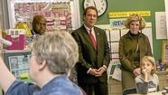 Kamenetz checks in at Stoneleigh to open American Education Week