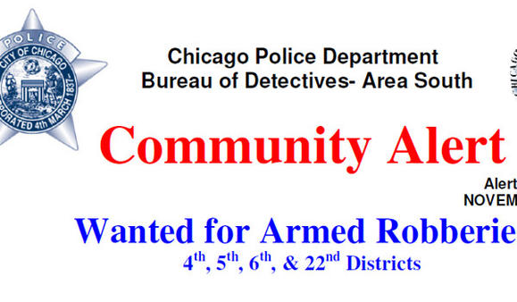 South Side community robbery alert