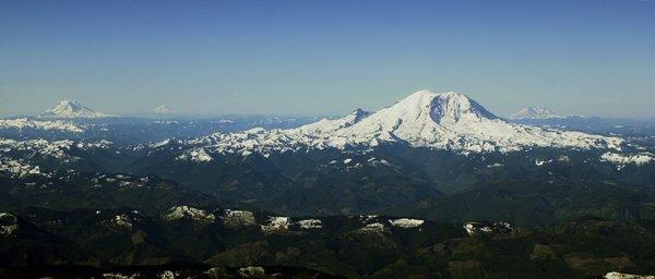 Two snowboarders were reportedly in good health after being rescued following two nights on Mt. Rainier.