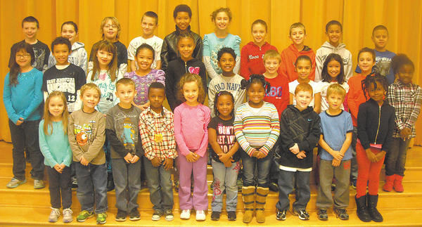 These students were chosen students of the month for November by their teachers at Salem Avenue Elementary. Row one, from left, Mariah Pagan, Sean Kline, Matthew Zwarton, Ja'Von Tyler, Molka Haj Mabrouk, Shawnelle Badoe, Donaisha Taylor, Gabe Rodriguez, Levi Hammerbeck and Lolia Erekosima. Row two, Melissa Tadeo, Darby Bryant, Mariah Ryland, Jasmine Walker-Keegan, Ashiya Domer, Jayden Sookdeo, Charlie Vahle, Italia Younger, Daniella Carino, Jack Martin and Diyanna Fain. Row three, Dylan Labonte, Ann Margaret Rafferty, Ryan Clark, Caleb McNabb, Aaliyah Hatcher, Katlin Salcutan, Nevaeh Napier, Randy Kendle, Jackson Reed and Guillermo Nunez. Absent from the photo: Xavier Davis.