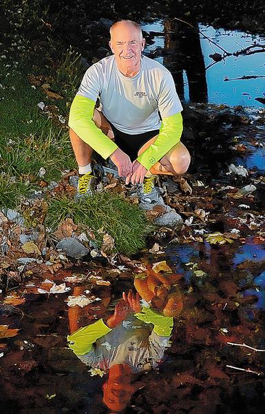 Jerry Mason plans to compete in the JFK 50 Mile ultramarathon. Mason has run the marathon three times before.