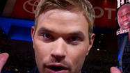 "Kellan Lutz at ""The Twilight Saga: Breaking Dawn -- Part 2"" premiere"