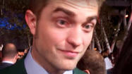 "Robert Pattinson at ""The Twilight Saga: Breaking Dawn -- Part 2"" premiere"