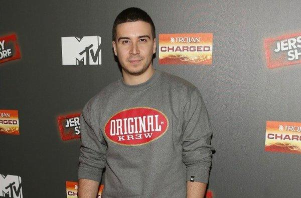 """Jersey Shore"" star Vinny Guadagnino at the show's final season premiere party in October."