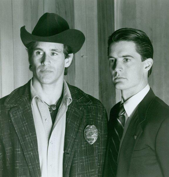 """Twin Peaks"" stars Michael Ontkean, left,  and Kyle MacLachlan."