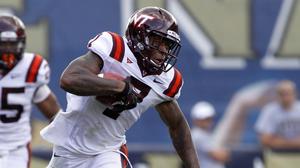 Virginia Tech's Marcus Davis has poor blocking highlighted in viral video