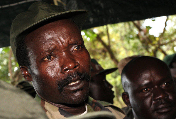 Lord's Resistance Army leader Joseph Kony, seen in a November 2006 photo, is being sought by thousands of African soldiers under U.S. Special Forces guidance, but he remains elusive and dangerous in his remote refuge in the Democratic Republic of Congo.