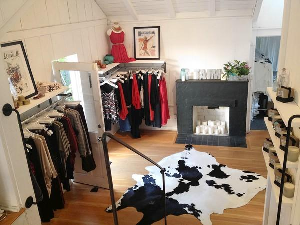 Taim in Laguna, which opened in October, offers a mix of clothing for women.
