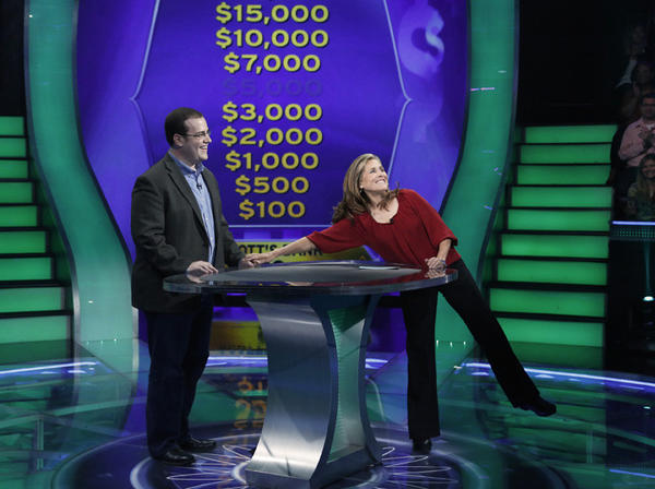 "Chicagoan Scott Green competes on ""Who Wants To Be A Millionaire?"" hosted by Meredith Vieira."