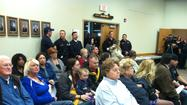 Standing room only at Derby hearing on unions