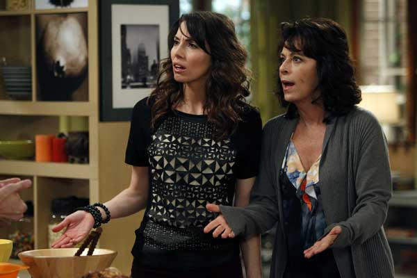 "A surprise visit from her mom (Jane Kaczmarek) could spoil Whitney's (Whitney Cummings) big day on a new episode of ""Whitney"" at 8 p.m. on NBC."
