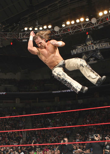 Tax Credit: $36,876,833.60<br> Various Productions<br> Location: Stamford<br> Caption: WWE star Shawn Michaels<br>