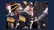 PITTSBURGH (AP) — Ben Roethlisberger left Heinz Field on Monday night with his sprained right shoulder in a sling. When he walks back in ready to play is anybody's guess.