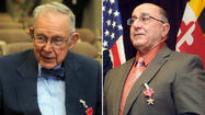 Dr. Charles E. Rath Jr. and Charles Shyab both earned the Bronze Star for their valor in battle, but neither soldier collected his medal.