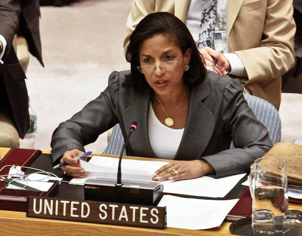 U.N. Ambassador Susan Rice, pictured in late August, has been a pillar of President Obama's foreign policy team since the 2008 election campaign.