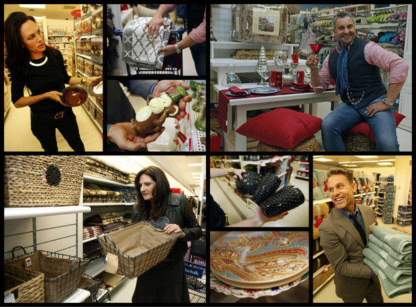 "The stars of ""Million Dollar Decorators"" -- clockwise from top left, Mary McDonald, Martyn Lawrence-Bullard, Jeffrey Alan Marks and Kathryn Ireland -- answered our call to point out the best buys in Kmart and Marshalls. For specifics on their picks, click to the photo gallery."
