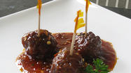 Meatballs are the ideal appetizer. They can serve a lot of people and are super convenient if you buy the premade ones.