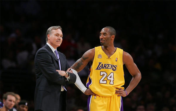 The Lakers had Kobe Bryant's approval to hire Mike D'Antoni.