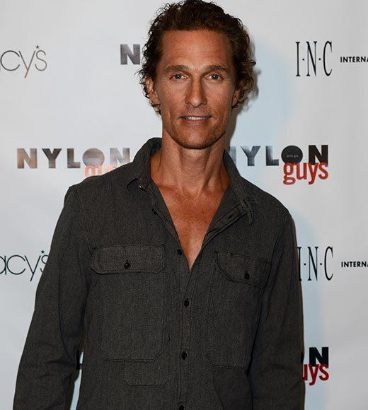 "McConaughey is playing an AIDS patient in the '80s-set drama ""The Dallas Buyer's Club."" He told Larry King ""I should not look healthy by the time I'm doing (the role)."""