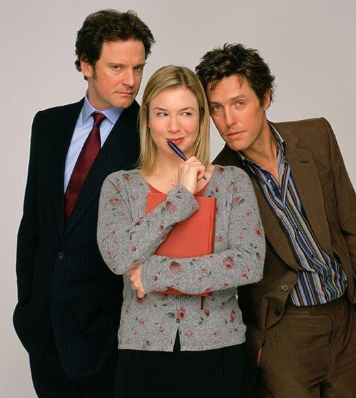 Zellweger put on 30 pounds to play the famous singleton Bridget Jones -- and got her first Oscar nomination.