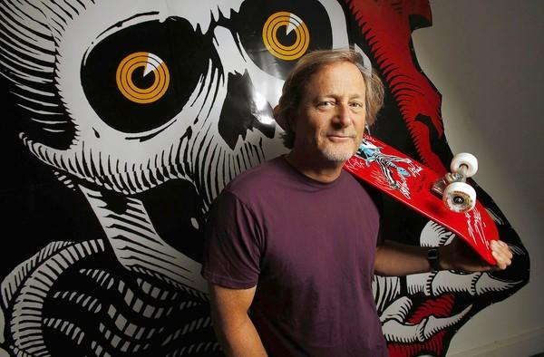 Documentary filmmaker Stacy Peralta at Skate One/Bones Brigade.