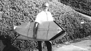 Herman Bank dies at 96; engineer designed collapsible surfboard