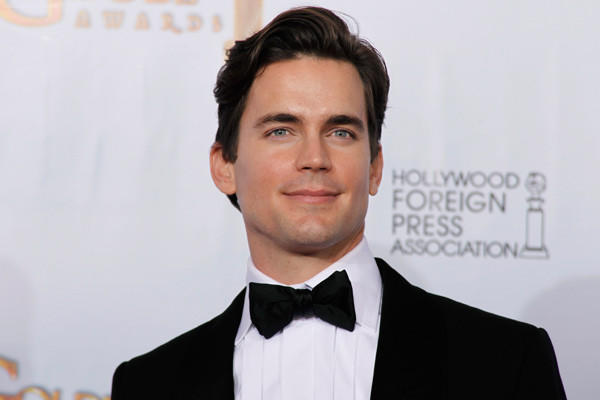 Actor Matt Bomer poses at the 68th annual Golden Globe Awards in Beverly Hills, Ca. in 2011.