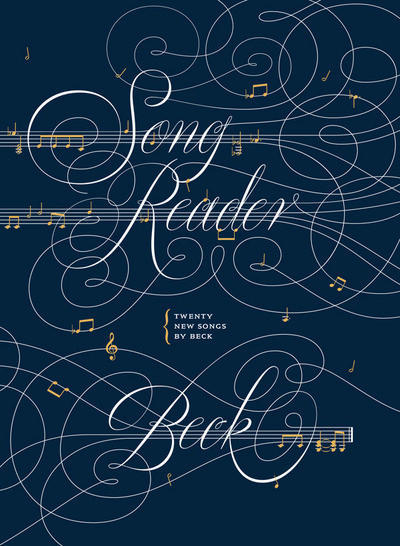 """Song Reader"" by Beck replicates the design and graphics of classic songbooks."