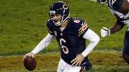 <strong>Jay Cutler was the last of three quarterbacks</strong> to get knocked out of a game because of a concussion Sunday, which brings trouble and questions.