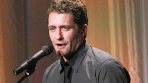 Matthew Morrison Gleeful To Be Back On Stage