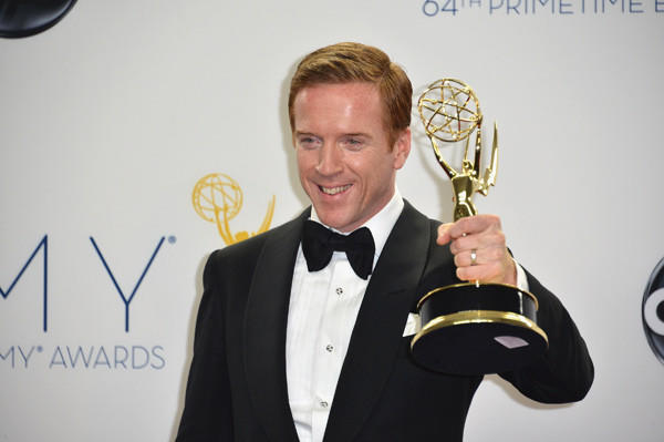 'Homeland' actor Damian Lewis at the 64th Annual Emmy Awards.