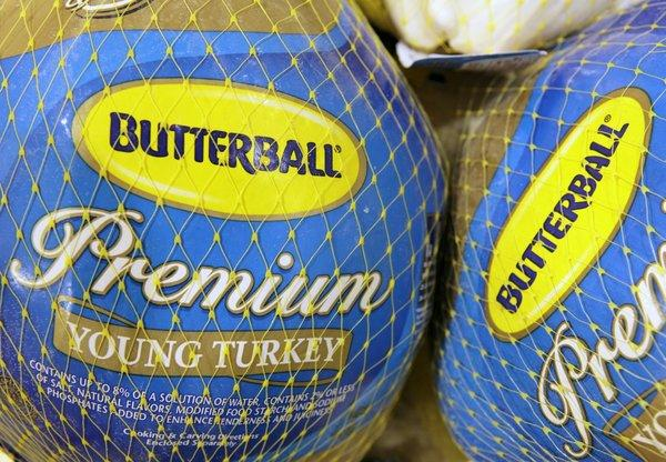 Animal welfare group Mercy For Animals is accusing Butterball of abusing its turkeys.