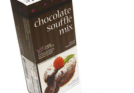 The November delivery from Wal-Mart's subscription food service includes a flourless chocolate souffle mix.