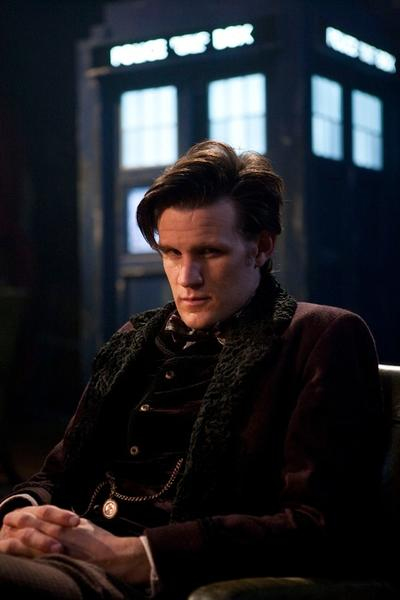 "Matt Smith as ""Doctor Who"" in the 2012 holiday special."