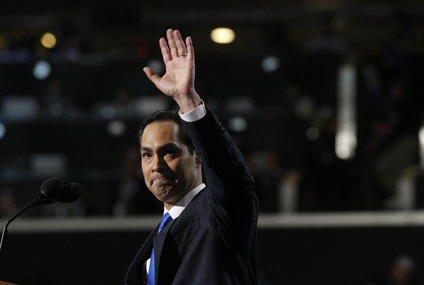 Julian Castro appeared at this year's Democratic National Convention; now he's writing a book.