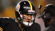 "Pittsburgh Steelers quarterback Ben Roethlisberger met with the media Wednesday, about two hours after the team <a href=""http://www.baltimoresun.com/sports/ravens/ravens-insider/bal-steelers-announce-byron-leftwich-will-start-20121114,0,7386156.story"" target=""_blank"">officially announced he would be out for Sunday night's game</a> against the Ravens. And Roethlisberger revealed that a rib injury -- not his sprained throwing shoulder -- was the bigger concern."