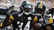 Steelers could have a crowded backfield for Sunday's game against Ravens
