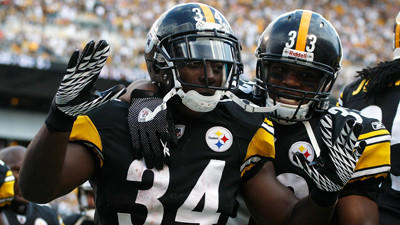 Steelers could have a crowded backfield for Sunday's game