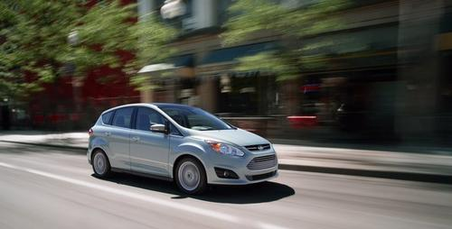 With the intention of competing against Toyota's Prius, Ford needed a car that looked the part. Rather than convert an existing model, it imported a dowdy hatchback from Europe and dropped in a hybrid power plant, resulting in the 2013 C-Max.