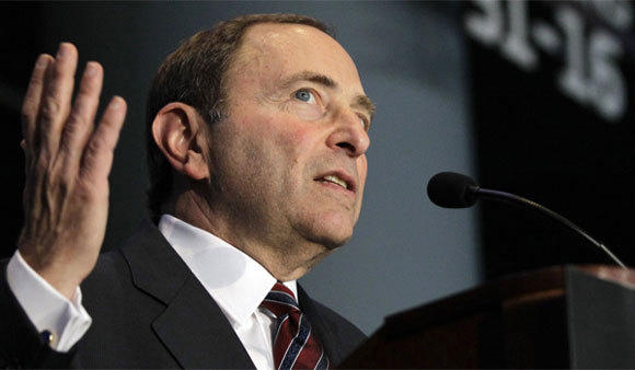 NHL Commissioner Gary Bettman, above, wants players to concede more, and NHLPA Executive Director Donald Fehr believes they have given up enough.