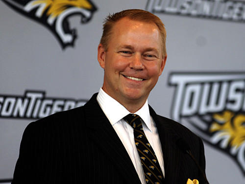 Towson athletic director Mike Waddell